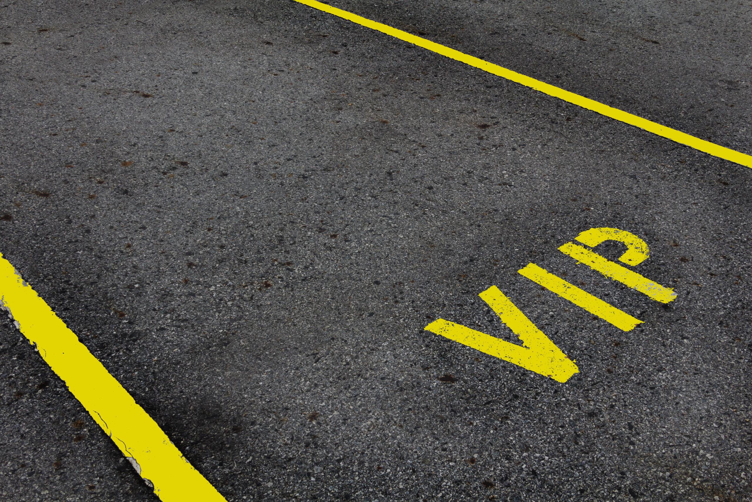 Parking VIP del aeropuerto de Madrid